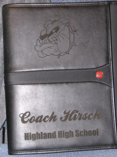 engraved wallet highland il
