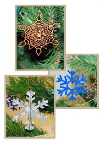 snow flake ornaments highland il
