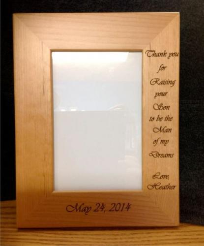 wedding picture frame highland il