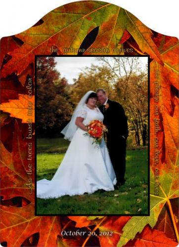 custom wedding photo frame highland il