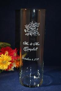 engraved wedding glass highland il