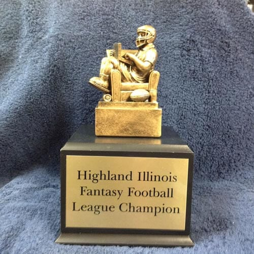 football fantasy trophy highland il