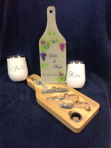 wine set gift in highland il